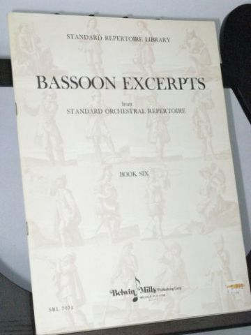 Wagner R - Bassoon Excerpts Book 6